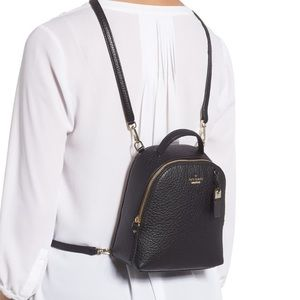 NWT Authentic Kate Spade Mini Convertible Backpack